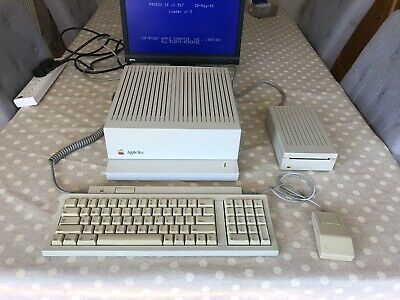 "Apple IIGS ROM01, 3.5"" Disk Drive, Keyboard, Mouse, Disks and Manuals"