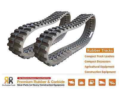2 Pcs Rubber Track 320x86x48 Takeuchi Tl126 Tl26 Tl226 Skid Steer