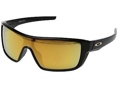 Oakley Straightback Sunglasses OO9411-0227 Polished Black 24K Iridium Lens 9411