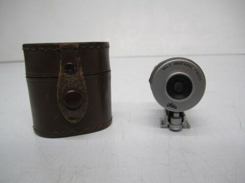 Vtg Japan Walz Universal Finder Rangefinder Camera Viewfinder Attachment & Case
