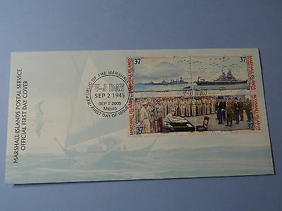 WWII MH FDC Pearl Harbor Hawaii 1945 V-J Day * 60th Anniversary * 2005