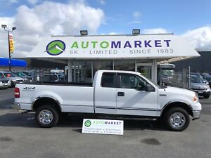 2008 Ford F-150 STX SuperCab LONG BOX 4WD FINANCE IT!