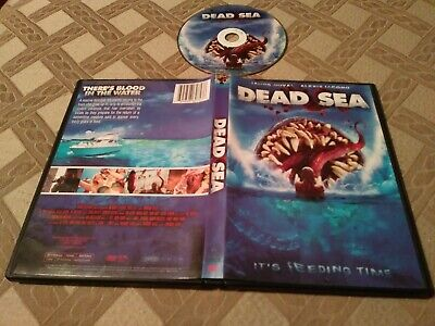 Dead Sea DVD, 2014 Its Feeding Time Not Rated Horror B movie James Duval Alexis  (B Rated Horror Movies)