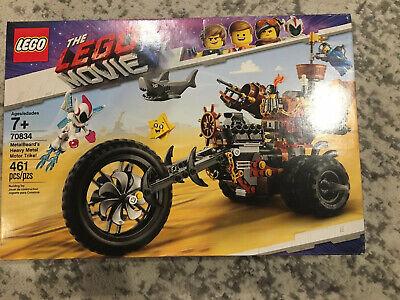 LEGO The Movie 2 MetalBeard's Heavy Metal Motor Trike! 70834 (461 Piece) NEW