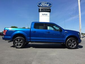 2016 Ford F-150 XLT SPORT SuperCrew 6.5-ft. 4WD