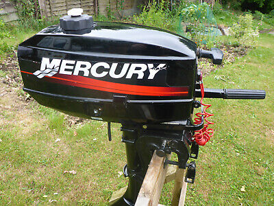 Mercury 2.5 HP 2 stroke outboard motor in good working condition