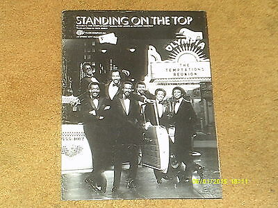 Temptations & Rick James sheet music Standing on the Top 1982  pp. (VG shape)