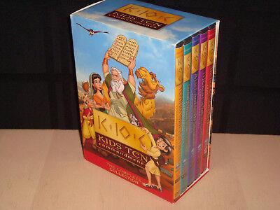 Kids Ten Commandments The Complete Collection DVD Set Lot Homeschool - Kids Ten Commandments