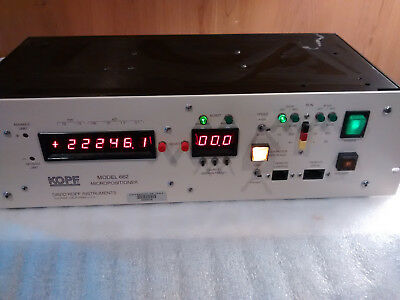 David Kopf Instruments 662 Micropositioner - 19 Rack Mount 2u - Fast Ship