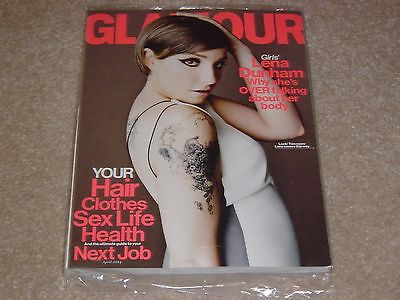Lena Dunham   Girls April 2014 Glamour Magazine New Partially Sealed