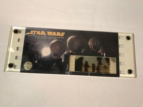 1995 Star Wars Film Cell Creature Edition Limited Edition 70mm Jawa jedi sith