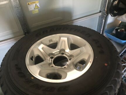 5x 2018 Toyota Landcruiser GXL Rims   Tyres Mudgee Mudgee Area Preview