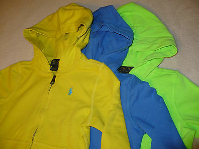 $45 NEW NWT RALPH LAUREN POLO TODDLER GIRLS HOODIE JACKET SIZE SZ 2T 4 5 L/S Girls L/s Polo