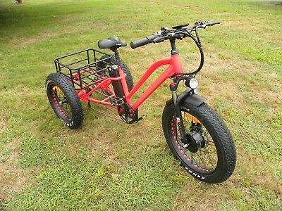 Fat tire electric tricycle, trike, snow beach tricycle, electric tricycle, li