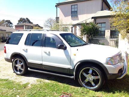 Ford Explorer 2003 bargain 22's $6k worth of stereo Adelaide CBD Adelaide City Preview