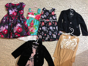 Girls 5T Holiday Dresses - Like New Condition!