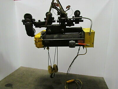Rm 5 Ton Electric Cable Rope Hoist 460v Power Trolley