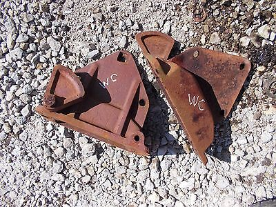 Allis Chalmers Styled Wc Tractor Ac Main Fender Mount Mounting Bracket Brackets