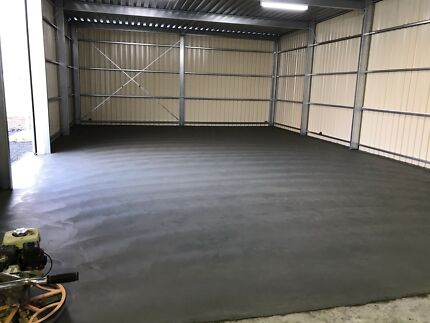 Concrete * Driveways * Shed Floors * Licensed * Insured