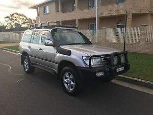 2005 Toyota LandCruiser Wagon 4.2 Diesel Turbo North Strathfield Canada Bay Area Preview