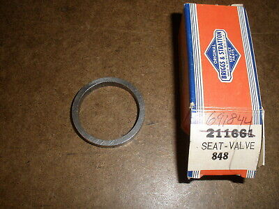 Briggs Stratton Gas Engine Valve Seat 211661 691844 New Old Stock Vintage