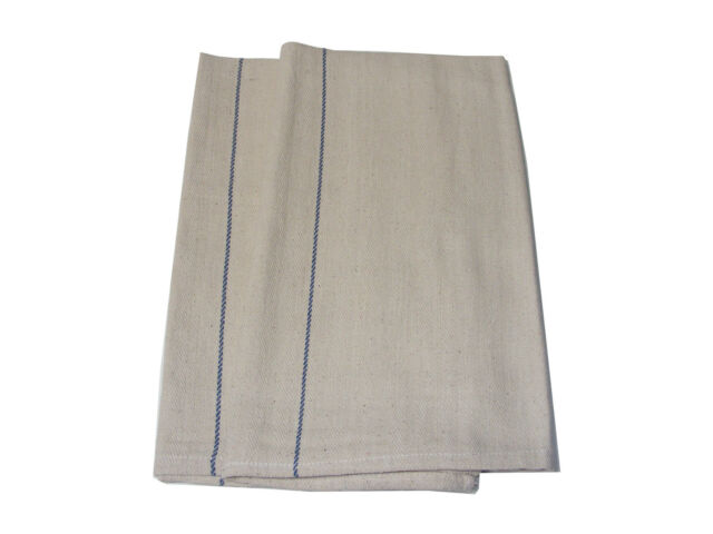 2 x LARGE HEAVY DUTY THICK 100% COTTON CHEFS OVEN CLOTHS (B GRADE MINOR FAULTS)