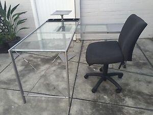 Desk - Office Chair Lathlain Victoria Park Area Preview