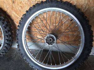 Motocross dirt bike wheels