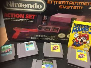 Nintendo nes complete system with games