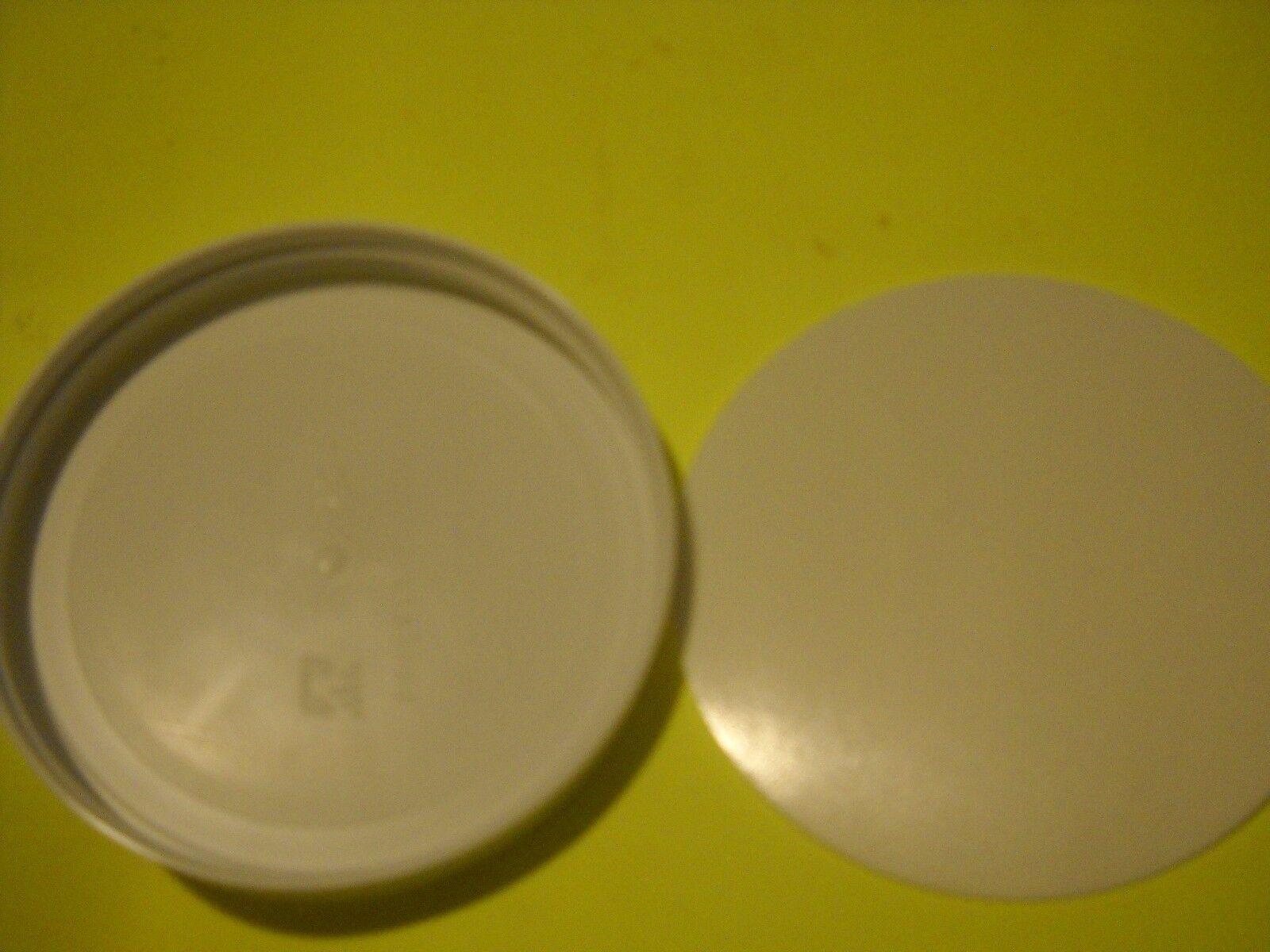 Pakkon 1 Gallon Wide Mouth Glass Jar REPLACEMENT PLASTIC LID