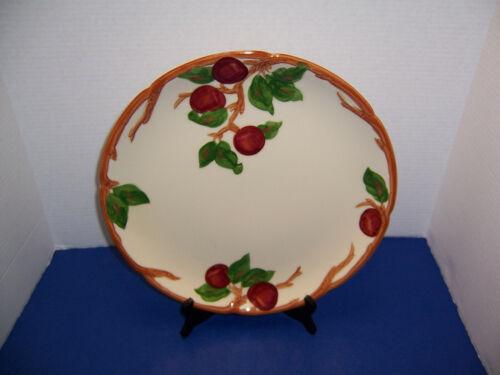 "USA Franciscan Apple Large Round Platter (14"") Chop Plate California Backstamp"