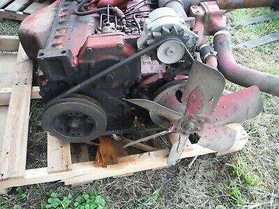 Ih Farmall 806 D-361 Diesel Engine