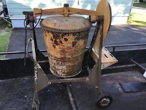 Contrete mixer for sale as is