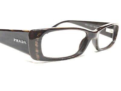 Prada VPR17L 7N6-1O1 Women's Brown Slate Rx Eyeglasses Frames 51/15~135