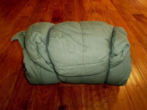 U.S Military Army Intermediate Cold Weather Sleeping Bag Mummy Bag New old stock