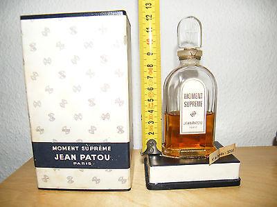 Vintage Jean Patou Moment Supreme reines Parfum Extrait pure perfume, rare