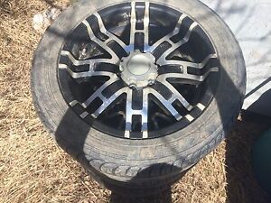 20's with tires