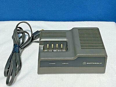 Motorola 2 Way Radio Rapid Charger - Ntn4633b - Ht600 - Ht800 - Mt1000 - Others