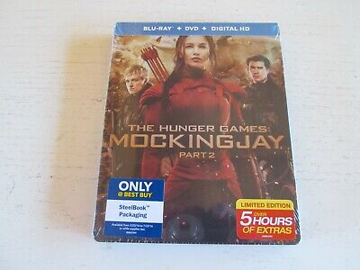 The Hunger Games Mockingjay Part 2 - Best Buy Blu-ray Steelbook. Brand New.