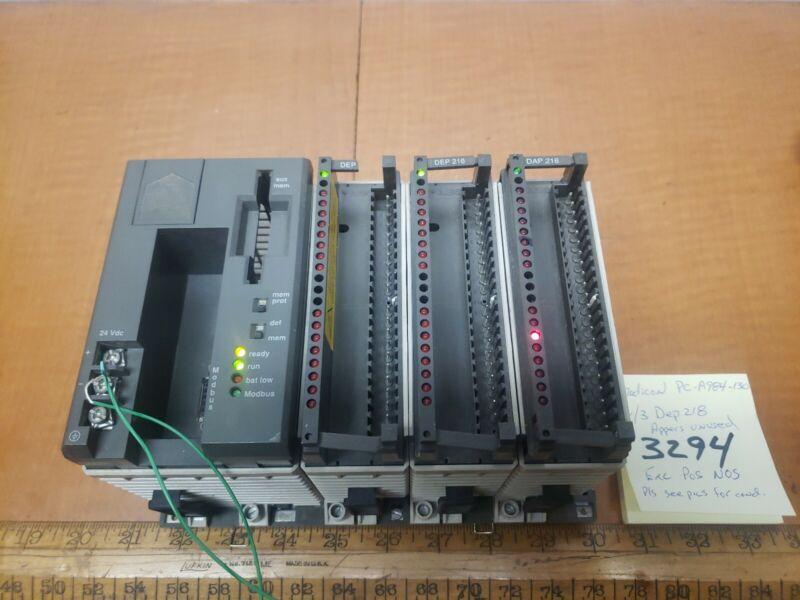 Modicon PC A984 130 W/3dep218 Excellent Schneider automation