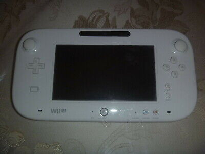 Nintendo Wii u Gamepad Controller Only White wiiu (No Console) Good Cond
