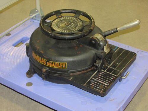 "DIAGRAPH BRADLEY GARVEY STENCIL MACHINE, Model B, 13/16"" TALL CHARACTERS"