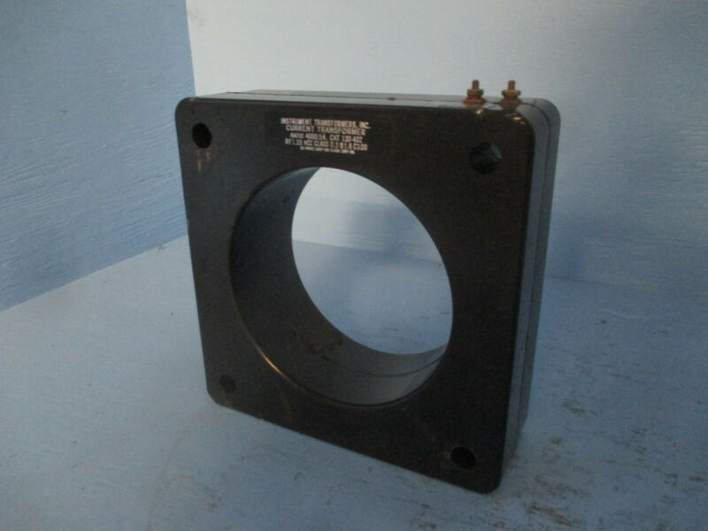 Instrument Transformers 130-402 Current Transformer Ratio 4000:5A CT