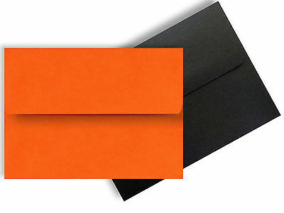 Invitations Halloween Party (Halloween Envelopes for Enclosures Invitations Gifts Party Orange Black A2 A6)