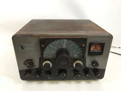 Vintage Johnson Viking Ranger Vintage Tube Ham Radio Transmitter