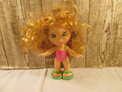 Fisher Price Snap N' Style blonde girl in pink outfit
