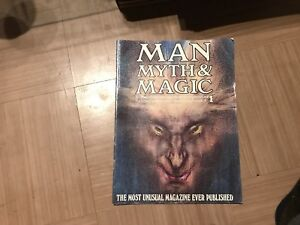 Man Myth & Magic magazines wanted