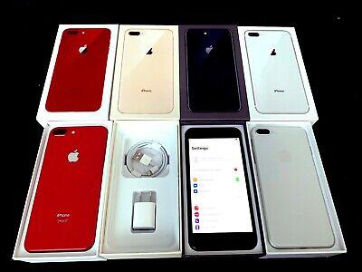NEW UNUSED Factory UNLOCKED iPHONE 8 Plus + 64GB Sprint AT&T T-MOBILE Verizon
