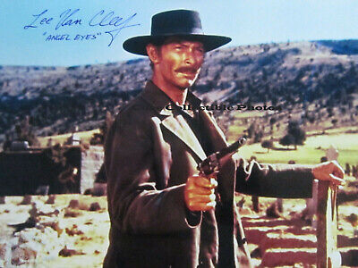 Lee Van Cleef Good Bad Ugly Autographed Signed 8x10 Photo Reprint