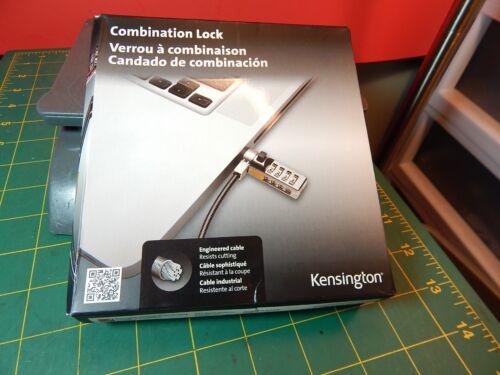 Kensington Combination Laptop Lock Black K64673US
